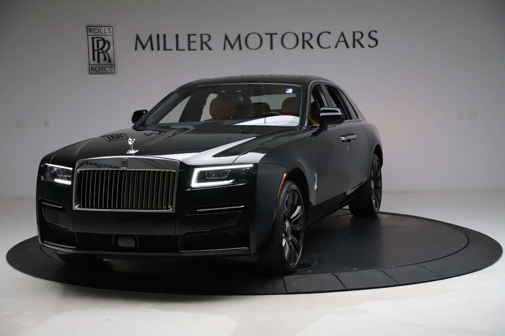 New 2021 Rolls-Royce Ghost for sale $381,100 at Bugatti of Greenwich in Greenwich CT 06830 1