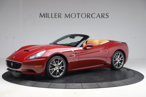 Used 2014 Ferrari California 30 for sale Sold at Bugatti of Greenwich in Greenwich CT 06830 2