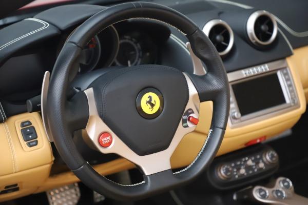 Used 2014 Ferrari California 30 for sale Sold at Bugatti of Greenwich in Greenwich CT 06830 27