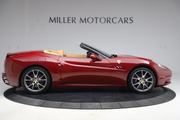 Used 2014 Ferrari California 30 for sale Sold at Bugatti of Greenwich in Greenwich CT 06830 9