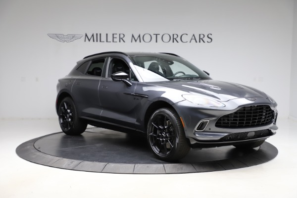 New 2021 Aston Martin DBX for sale $201,586 at Bugatti of Greenwich in Greenwich CT 06830 10