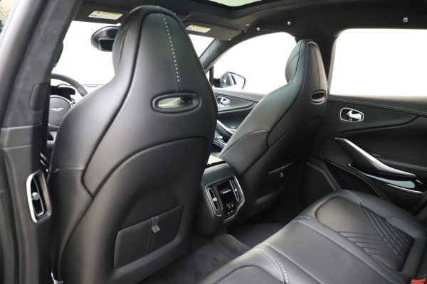 New 2021 Aston Martin DBX for sale $201,586 at Bugatti of Greenwich in Greenwich CT 06830 19
