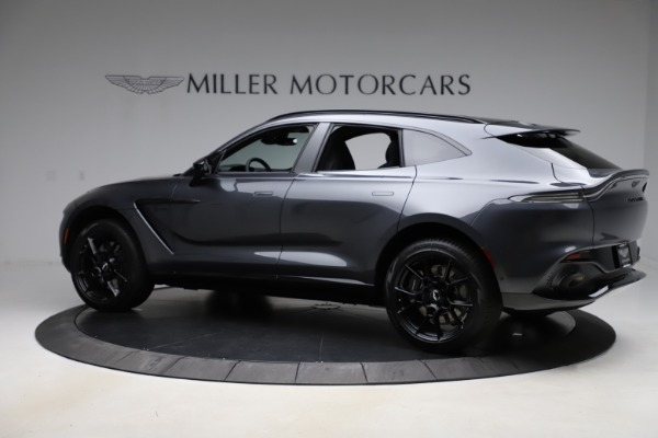 New 2021 Aston Martin DBX for sale $201,586 at Bugatti of Greenwich in Greenwich CT 06830 3