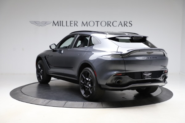 New 2021 Aston Martin DBX for sale $201,586 at Bugatti of Greenwich in Greenwich CT 06830 4
