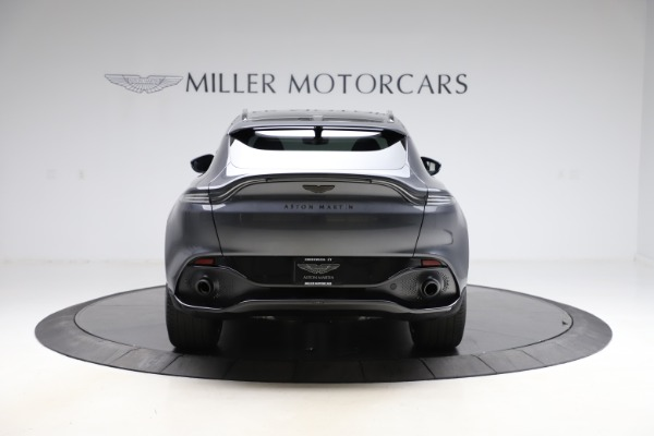 New 2021 Aston Martin DBX for sale $201,586 at Bugatti of Greenwich in Greenwich CT 06830 5
