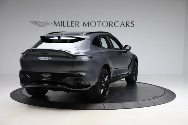 New 2021 Aston Martin DBX for sale $201,586 at Bugatti of Greenwich in Greenwich CT 06830 6