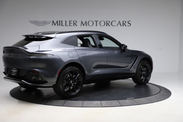 New 2021 Aston Martin DBX for sale $201,586 at Bugatti of Greenwich in Greenwich CT 06830 7