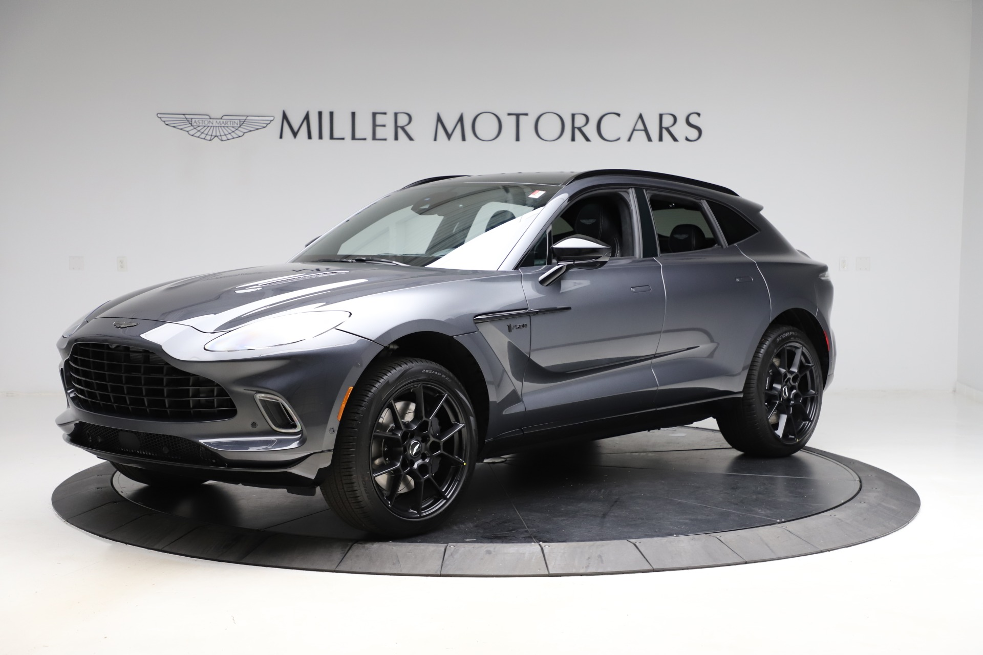New 2021 Aston Martin DBX for sale $201,586 at Bugatti of Greenwich in Greenwich CT 06830 1