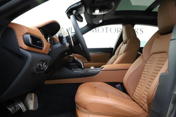 New 2021 Maserati Levante S Q4 GranSport for sale $108,235 at Bugatti of Greenwich in Greenwich CT 06830 14