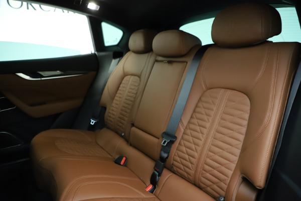 New 2021 Maserati Levante S Q4 GranSport for sale $108,235 at Bugatti of Greenwich in Greenwich CT 06830 18