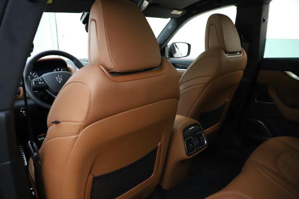 New 2021 Maserati Levante S Q4 GranSport for sale $108,235 at Bugatti of Greenwich in Greenwich CT 06830 20