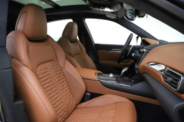 New 2021 Maserati Levante S Q4 GranSport for sale $108,235 at Bugatti of Greenwich in Greenwich CT 06830 21