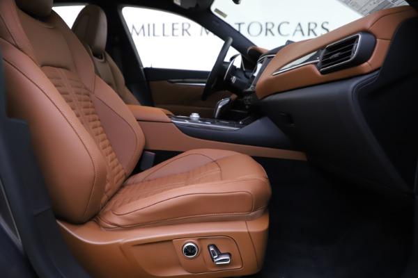 New 2021 Maserati Levante S Q4 GranSport for sale $108,235 at Bugatti of Greenwich in Greenwich CT 06830 22
