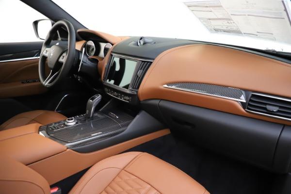 New 2021 Maserati Levante S Q4 GranSport for sale $108,235 at Bugatti of Greenwich in Greenwich CT 06830 23