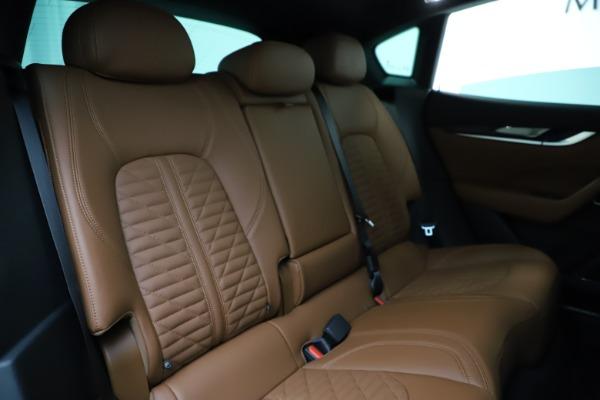 New 2021 Maserati Levante S Q4 GranSport for sale $108,235 at Bugatti of Greenwich in Greenwich CT 06830 24