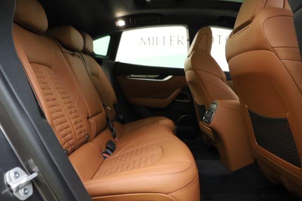 New 2021 Maserati Levante S Q4 GranSport for sale $108,235 at Bugatti of Greenwich in Greenwich CT 06830 25