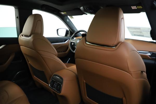 New 2021 Maserati Levante S Q4 GranSport for sale $108,235 at Bugatti of Greenwich in Greenwich CT 06830 26