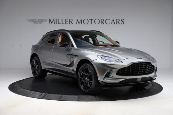 New 2021 Aston Martin DBX for sale $226,136 at Bugatti of Greenwich in Greenwich CT 06830 10