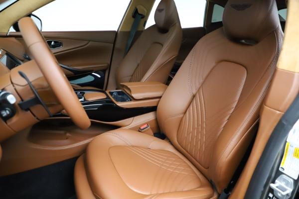 New 2021 Aston Martin DBX for sale $226,136 at Bugatti of Greenwich in Greenwich CT 06830 14