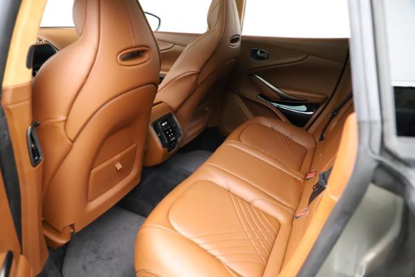 New 2021 Aston Martin DBX for sale $226,136 at Bugatti of Greenwich in Greenwich CT 06830 16