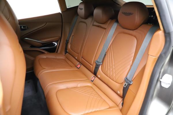 New 2021 Aston Martin DBX for sale $226,136 at Bugatti of Greenwich in Greenwich CT 06830 17