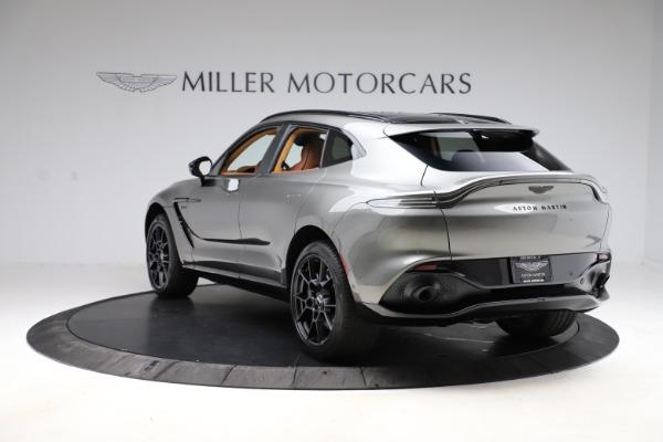 New 2021 Aston Martin DBX for sale $226,136 at Bugatti of Greenwich in Greenwich CT 06830 4