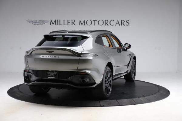 New 2021 Aston Martin DBX for sale $226,136 at Bugatti of Greenwich in Greenwich CT 06830 6