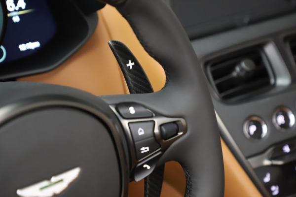 New 2021 Aston Martin DBS Superleggera Volante Convertible for sale $402,786 at Bugatti of Greenwich in Greenwich CT 06830 19