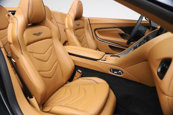 New 2021 Aston Martin DBS Superleggera Volante Convertible for sale $402,786 at Bugatti of Greenwich in Greenwich CT 06830 23