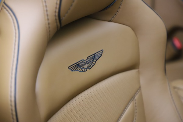 New 2021 Aston Martin DBS Superleggera Volante Convertible for sale $402,786 at Bugatti of Greenwich in Greenwich CT 06830 24