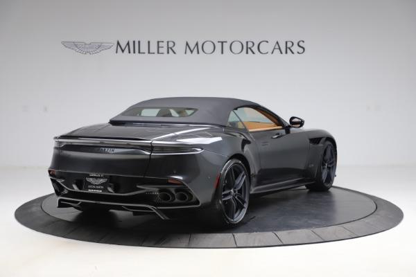 New 2021 Aston Martin DBS Superleggera Volante Convertible for sale $402,786 at Bugatti of Greenwich in Greenwich CT 06830 28
