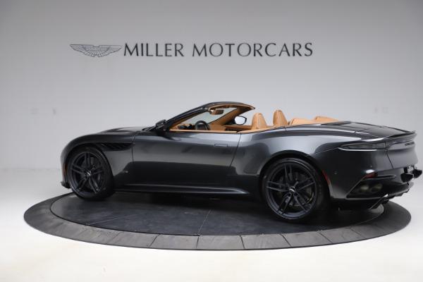 New 2021 Aston Martin DBS Superleggera Volante Convertible for sale $402,786 at Bugatti of Greenwich in Greenwich CT 06830 3