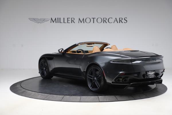 New 2021 Aston Martin DBS Superleggera Volante Convertible for sale $402,786 at Bugatti of Greenwich in Greenwich CT 06830 4