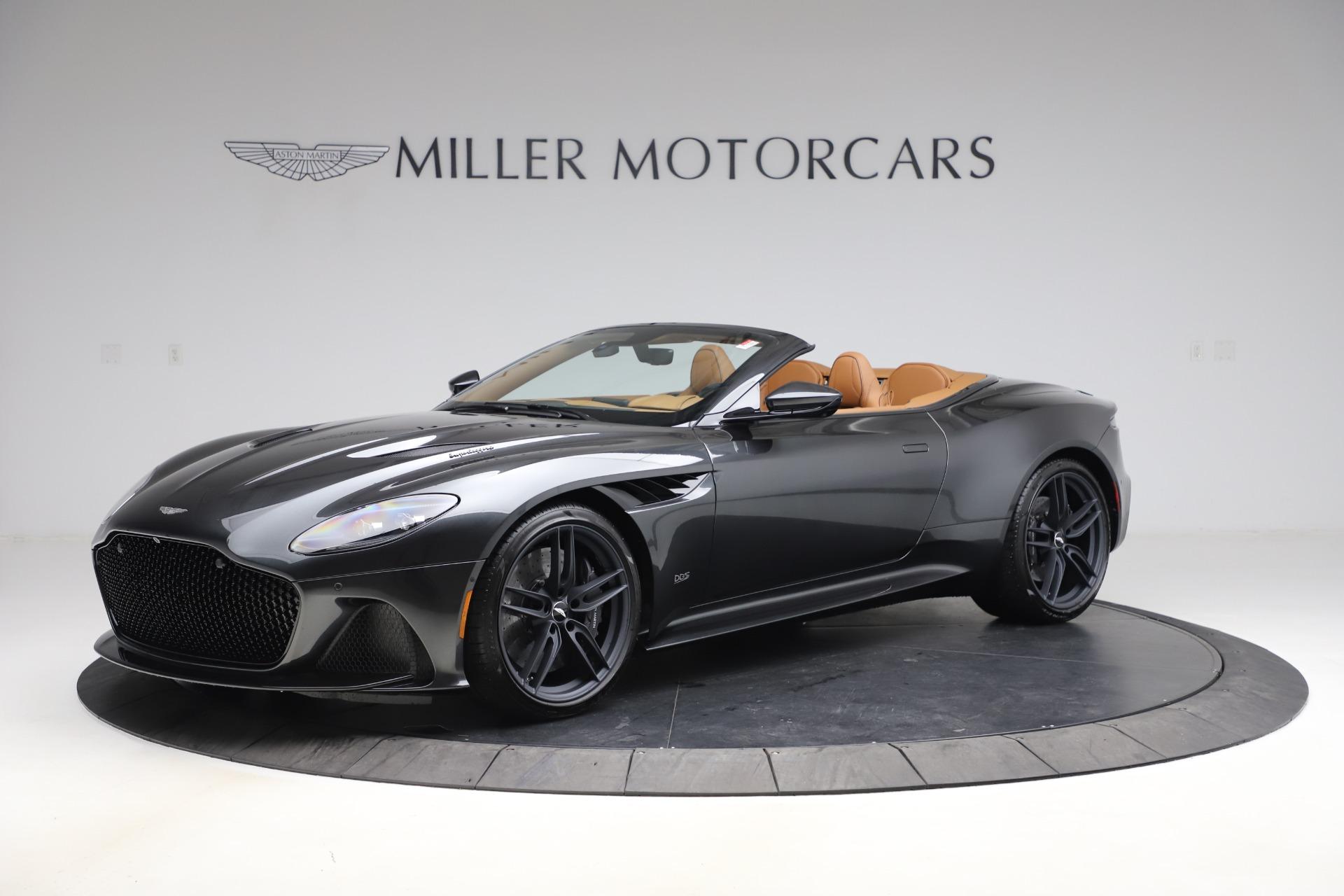 New 2021 Aston Martin DBS Superleggera Volante Convertible for sale $402,786 at Bugatti of Greenwich in Greenwich CT 06830 1