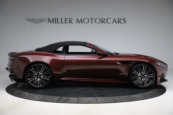 New 2021 Aston Martin DBS Superleggera Volante for sale $362,486 at Bugatti of Greenwich in Greenwich CT 06830 12