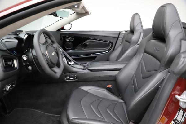 New 2021 Aston Martin DBS Superleggera Volante for sale $362,486 at Bugatti of Greenwich in Greenwich CT 06830 18