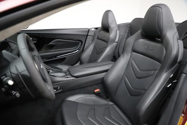 New 2021 Aston Martin DBS Superleggera Volante for sale $362,486 at Bugatti of Greenwich in Greenwich CT 06830 20