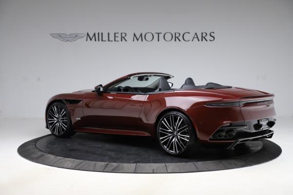 New 2021 Aston Martin DBS Superleggera Volante for sale $362,486 at Bugatti of Greenwich in Greenwich CT 06830 3