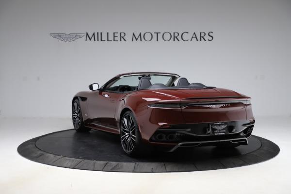 New 2021 Aston Martin DBS Superleggera Volante for sale $362,486 at Bugatti of Greenwich in Greenwich CT 06830 4