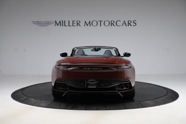 New 2021 Aston Martin DBS Superleggera Volante for sale $362,486 at Bugatti of Greenwich in Greenwich CT 06830 5