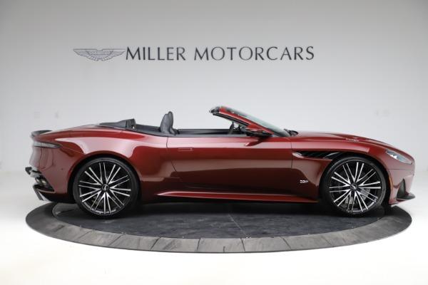 New 2021 Aston Martin DBS Superleggera Volante for sale $362,486 at Bugatti of Greenwich in Greenwich CT 06830 8