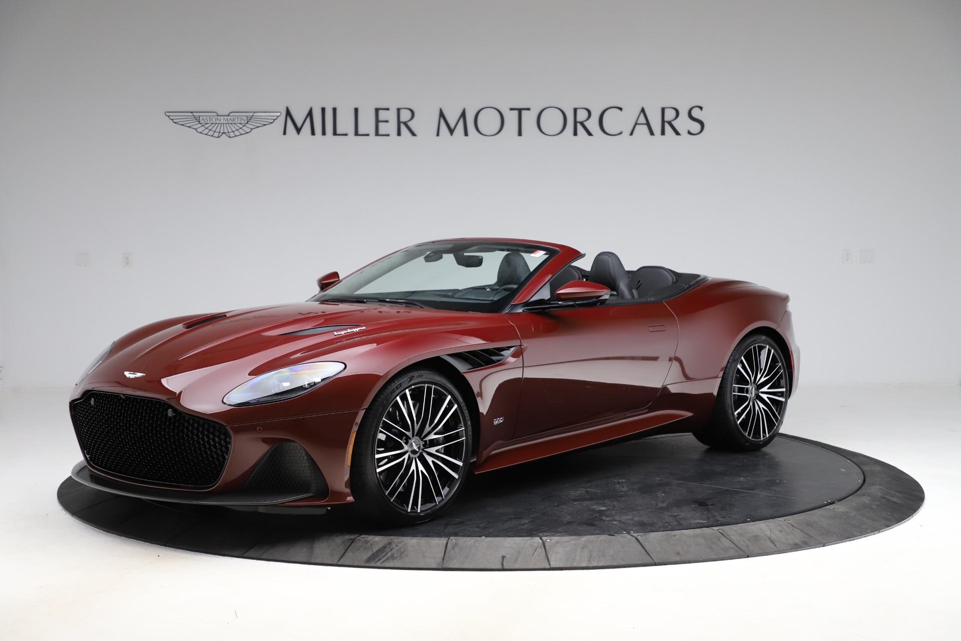 New 2021 Aston Martin DBS Superleggera Volante Convertible for sale $362,486 at Bugatti of Greenwich in Greenwich CT 06830 1