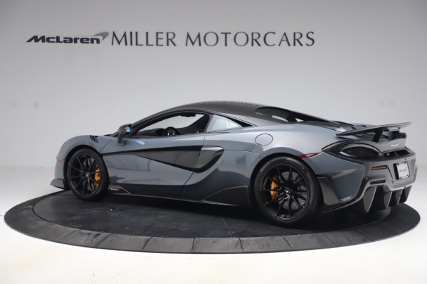 Used 2019 McLaren 600LT Coupe for sale $229,900 at Bugatti of Greenwich in Greenwich CT 06830 3