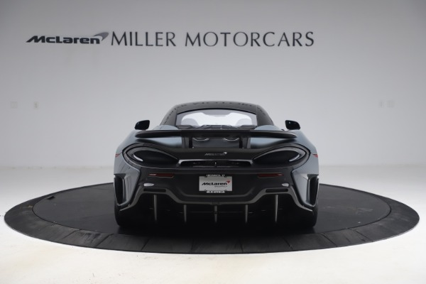 Used 2019 McLaren 600LT Coupe for sale $229,900 at Bugatti of Greenwich in Greenwich CT 06830 5
