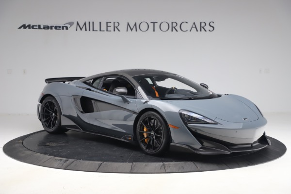 Used 2019 McLaren 600LT Coupe for sale $229,900 at Bugatti of Greenwich in Greenwich CT 06830 9