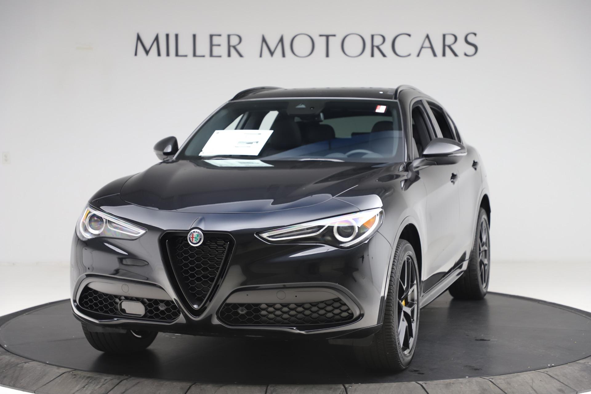 New 2020 Alfa Romeo Stelvio Ti Sport Q4 for sale Sold at Bugatti of Greenwich in Greenwich CT 06830 1