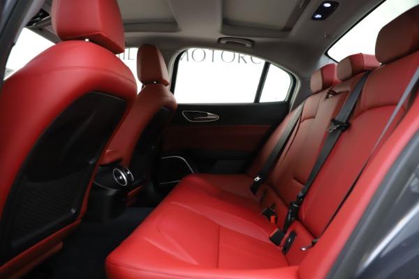 New 2021 Alfa Romeo Giulia Q4 for sale $48,035 at Bugatti of Greenwich in Greenwich CT 06830 20