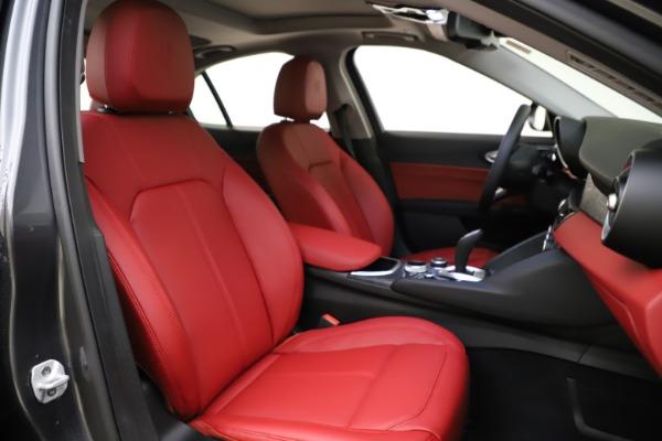 New 2021 Alfa Romeo Giulia Q4 for sale $48,035 at Bugatti of Greenwich in Greenwich CT 06830 22