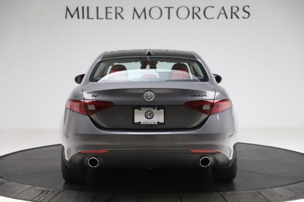 New 2021 Alfa Romeo Giulia Q4 for sale $48,035 at Bugatti of Greenwich in Greenwich CT 06830 6