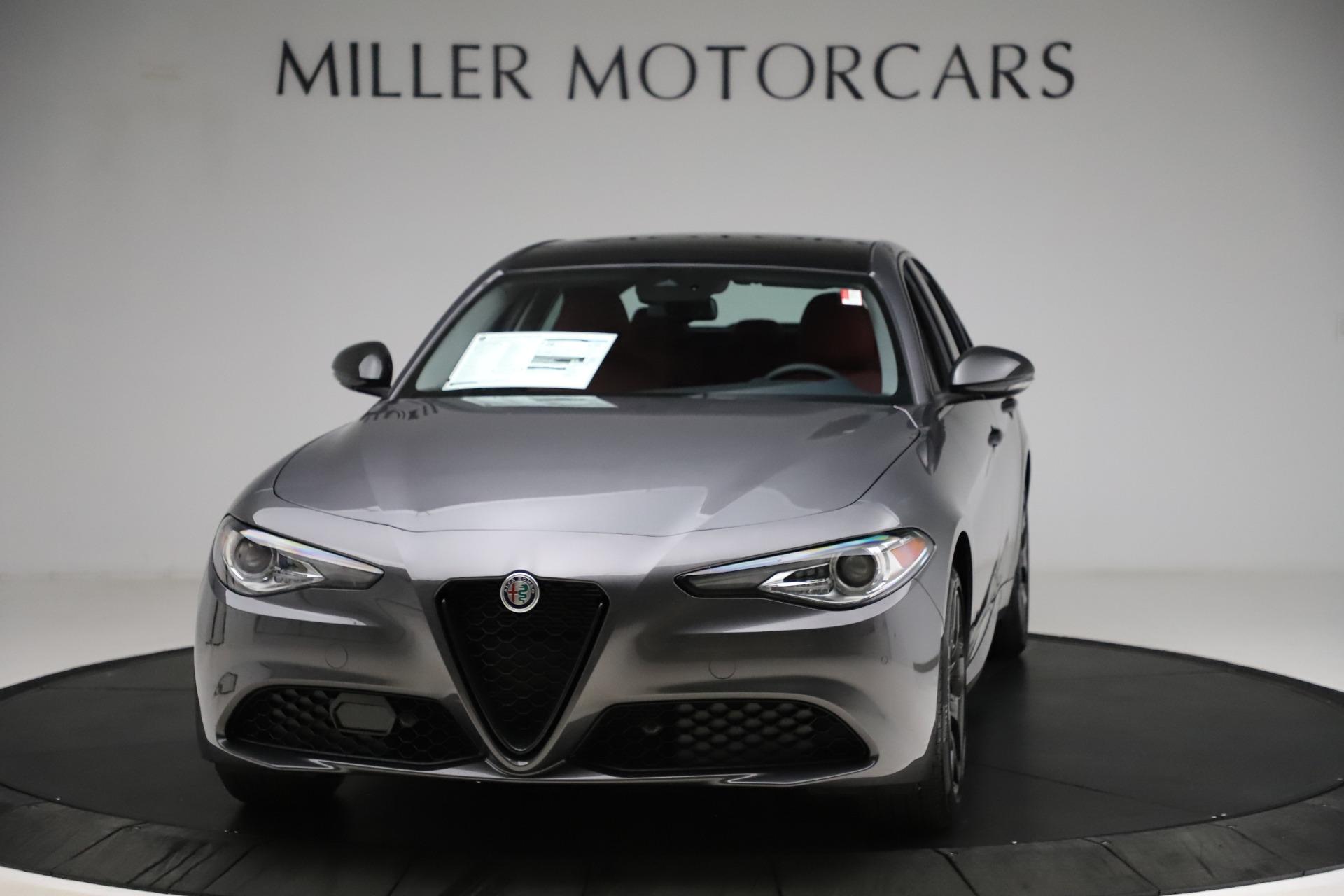 New 2021 Alfa Romeo Giulia Q4 for sale $48,035 at Bugatti of Greenwich in Greenwich CT 06830 1